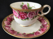 Lovely George Jones espresso cup and saucer
